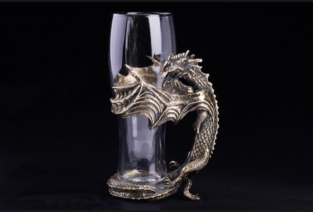 Бокал для пива Дракон №2