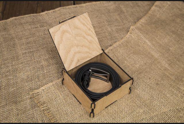 Подарочная коробка для ремня