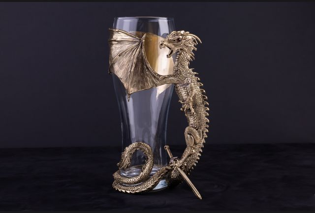 Бокал для пива Дракон