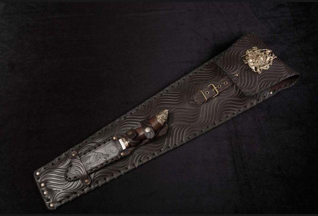 Чехол для шампуров с ножом Охотник премиум (новый дизайн 2021)