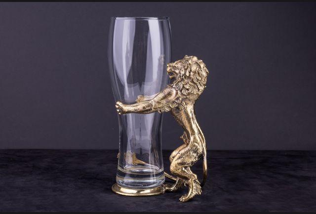 Бокал для пива Могучий Лев