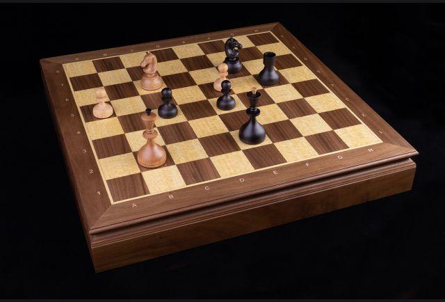 Шахматный ларец Стародворянский, Орех